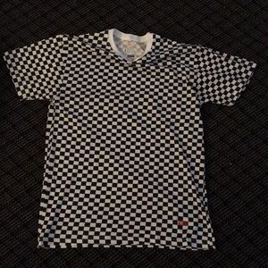 Supreme checkered Hanes tag-less t shirt